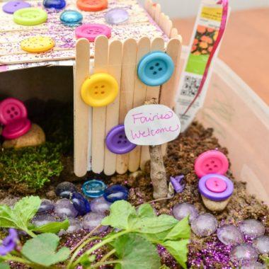 cute DIY fairy house