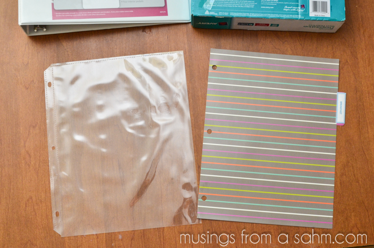 recipe binder supplies2