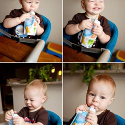 Happy Family Greek Yogurt Pouches: Organic Nutrition and a Happy Baby {Giveaway}