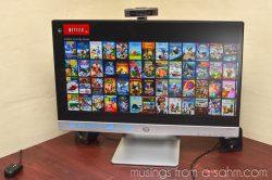 Netflix and Our HP Envy h8 Desktop PC #HPFamilyTime