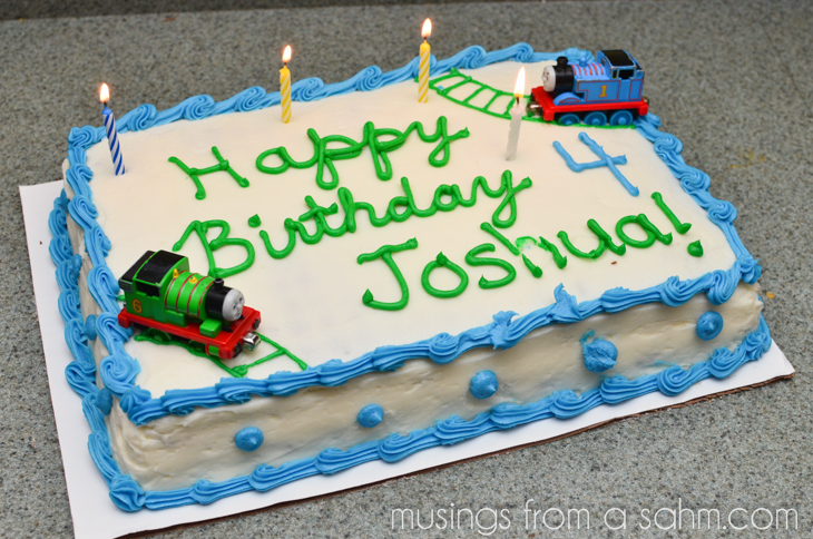 Happy Birthday Cake Joshua Images ~ Joshua s th birthday living well mom