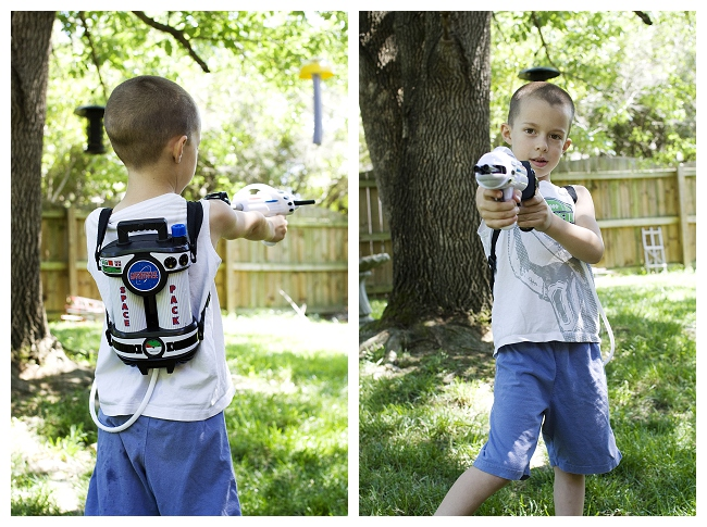 Astronaut Space Pack Super Soaking Water Blaster Summer Fun