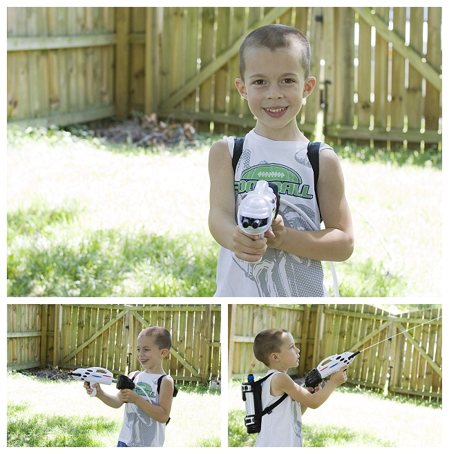 Astronaut Space Pack Super Soaker Water Blaster