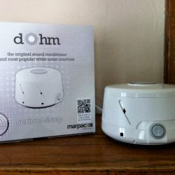 A Good Night's Sleep with the Dohm Sound Conditioner {Giveaway}