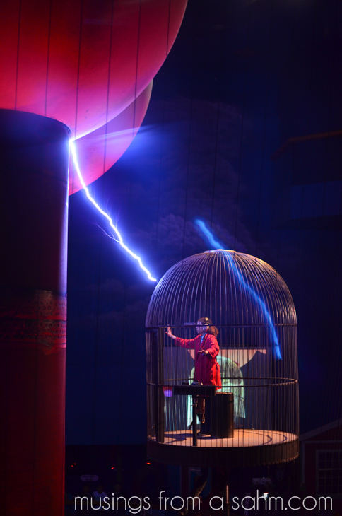 Museum of Science Lightning Cage