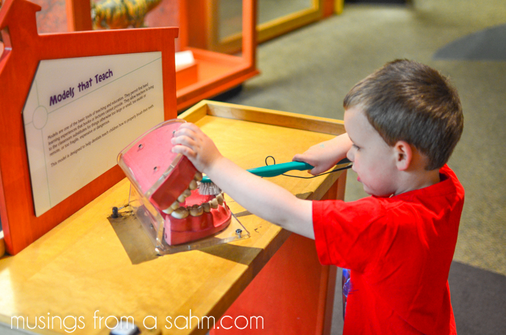 Museum of Science kids
