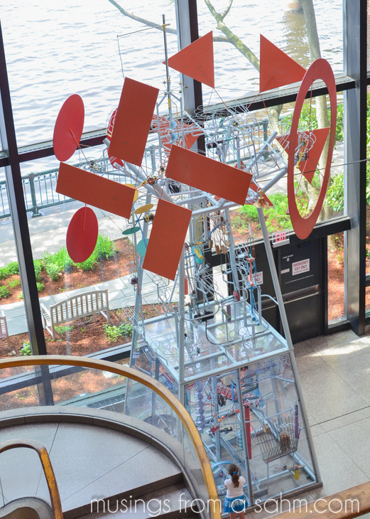 Museum of Science kinetic sculpture