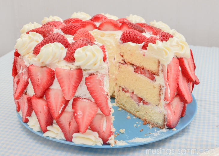 Strawberry Cream Cake Recipes — Dishmaps