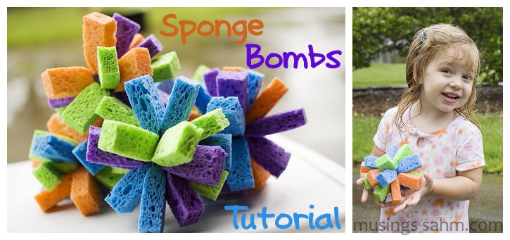 DIY Sponge Bombs