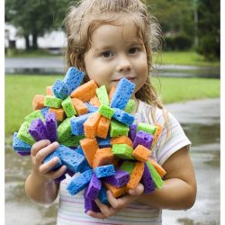 Splish Splashing Fun with Sponge Bombs {Tutorial}