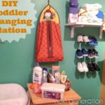 DIY Toddler Changing Station