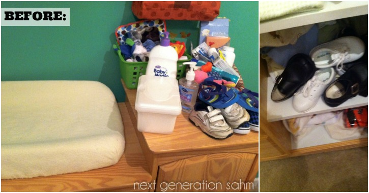 Diy Toddler Changing Station Musings From A Stay At Home Mom