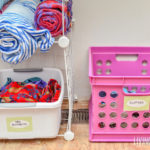 DIY Swim Gear Organizer – Everything in One Place