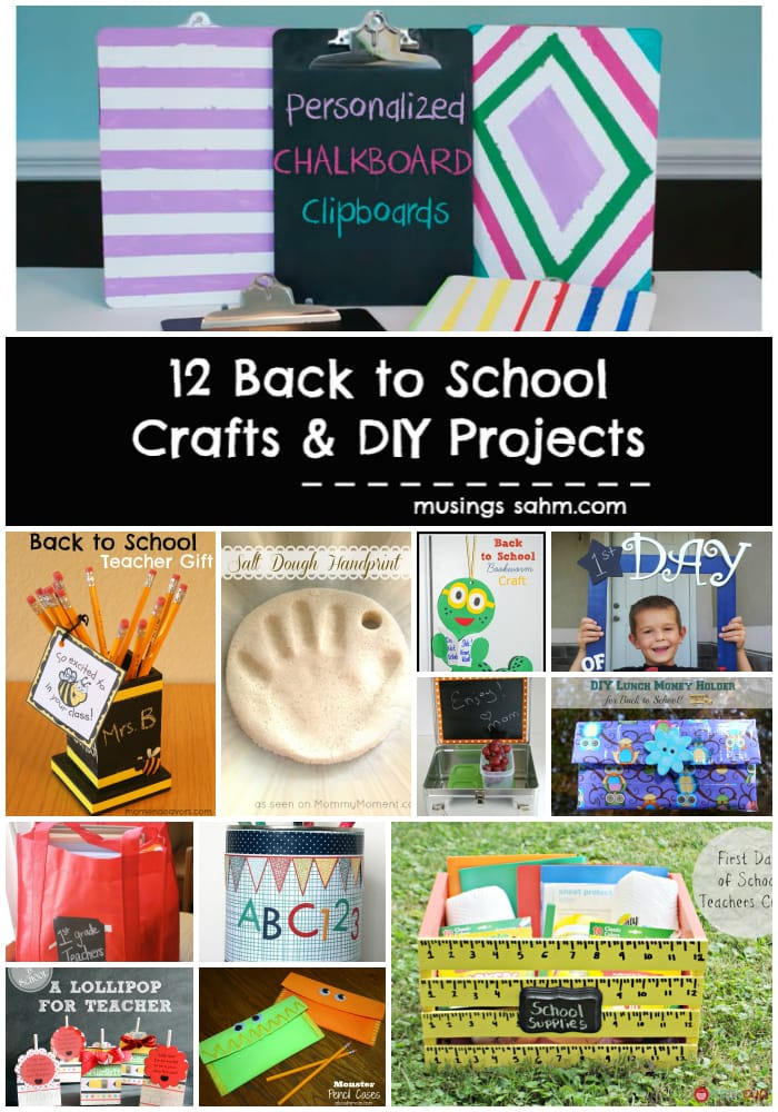12 back to school crafts diy projects living well mom for School diy ideas