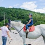 Emily's First Horseback Riding Lesson