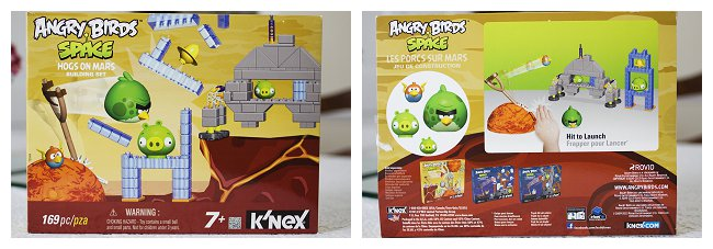 Angry BIrds Hogs on Mars by K'NEX
