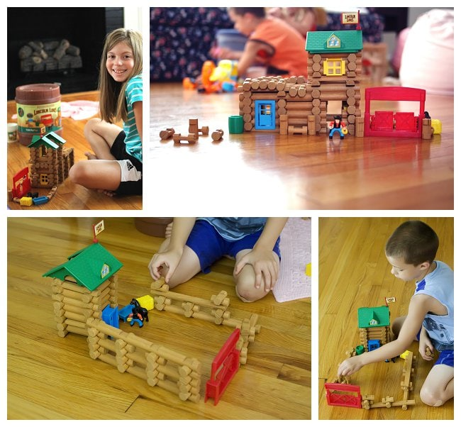 K'NEX Lincoln Logs Set