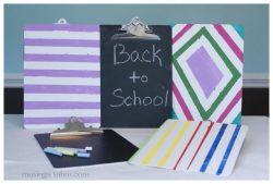 Personalized Chalkboard Clipboard {DIY Project}