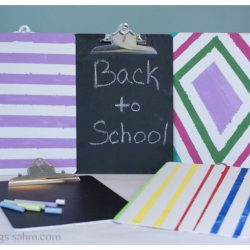 Personalized Chalkboard Clipboard {DIY Project}