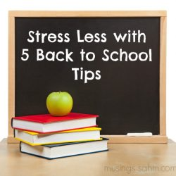 Stress Less with Back to School This Year {Giveaway}