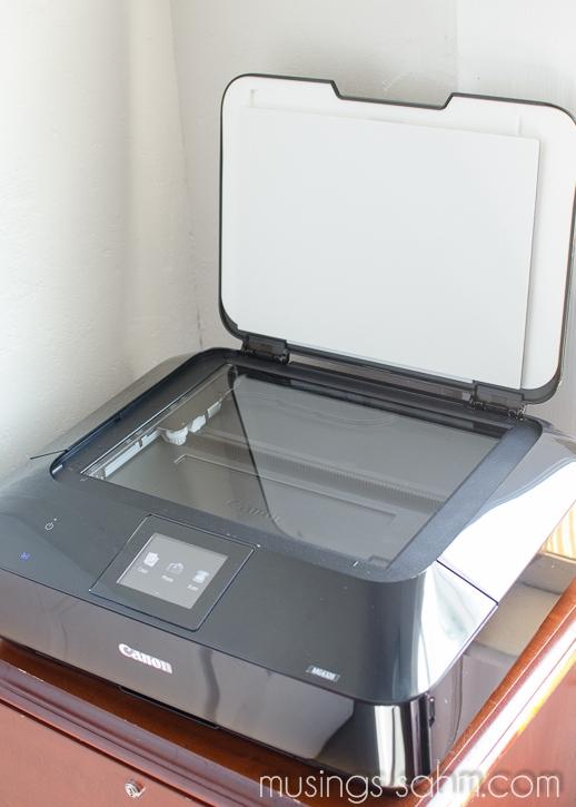 Canon PIXMA 6320 scanner