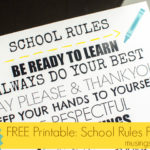 Creativity with Canon PIXMA 6320 Wireless All-In-One Printer + {Free Printable School Poster}