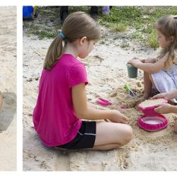 Sand and Water Fun with HABA Sun Bistro and Sand Construction Tools {Giveaway}