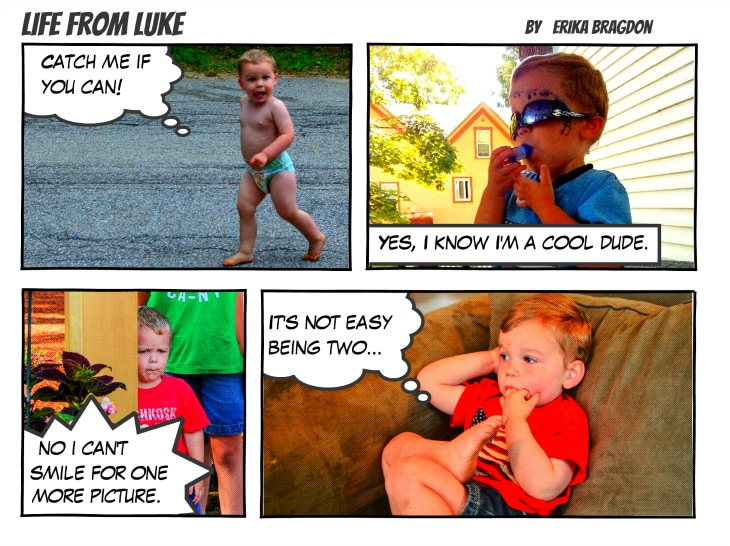 Luke PIXMA Comic