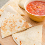10 Minute Salmon Quesadillas