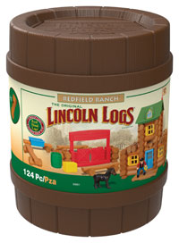 K'NEX Linoln Logs Giveaway