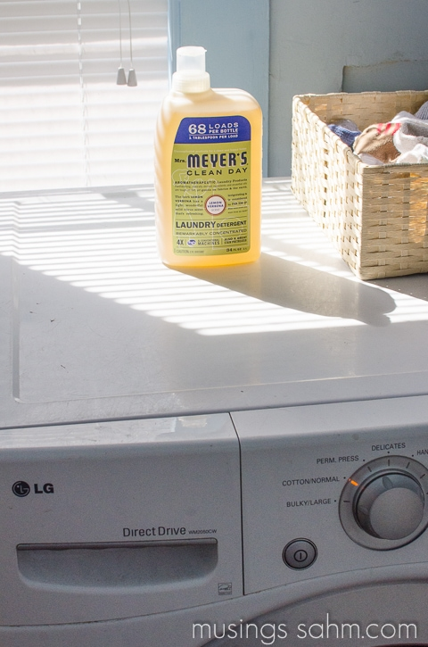 Mrs Meyers Laundry Detergent