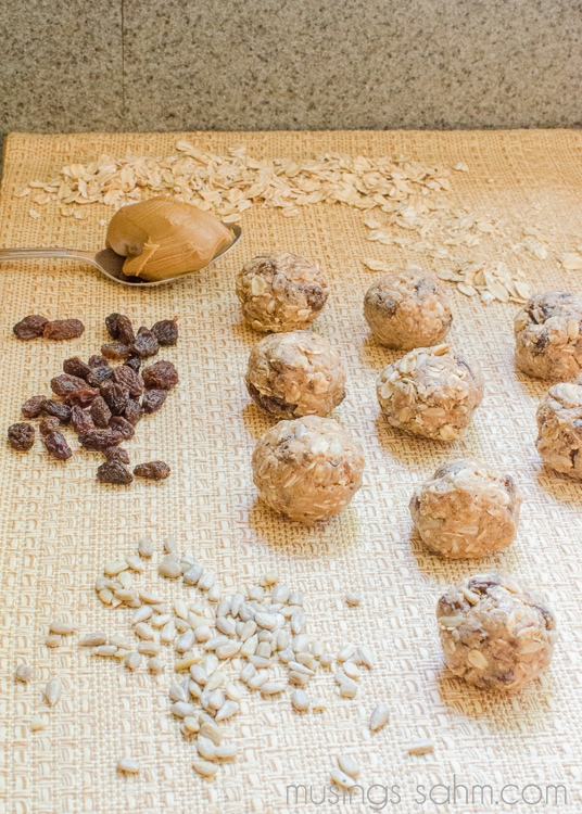 ... Peanut Butter Snack Balls recipe - packed with protein, healthy snack