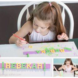 Magnetic Artwork Holder {Crafts for Kids}