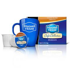 Start Your Morning with Maxwell House Cafe Collection® Single Serve Cups