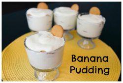 Banana Pudding {Cooking with Kids}