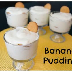 Banana Pudding {Cooking with Kids}