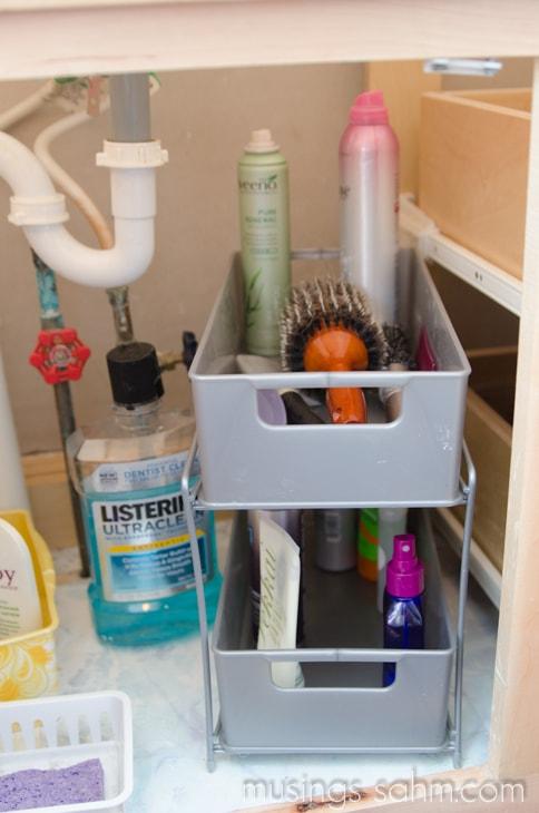 drawer set for hair stuff