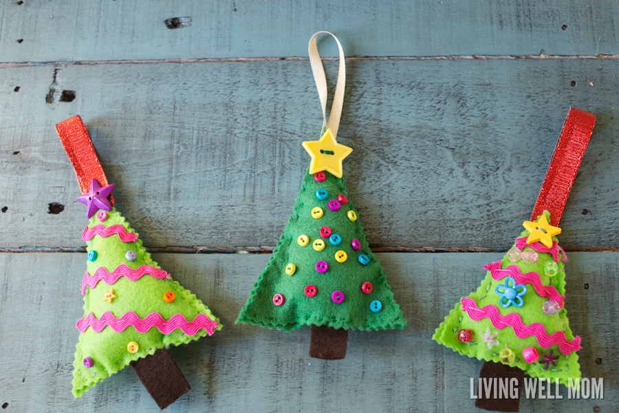 Felt Christmas Crafts For Children