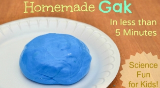 Homemade Gak Recipe