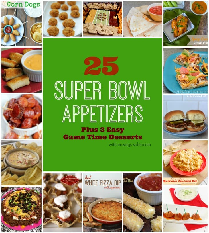 Super bowl appetizers super bowl appetizers football for Super bowl appetizers pinterest
