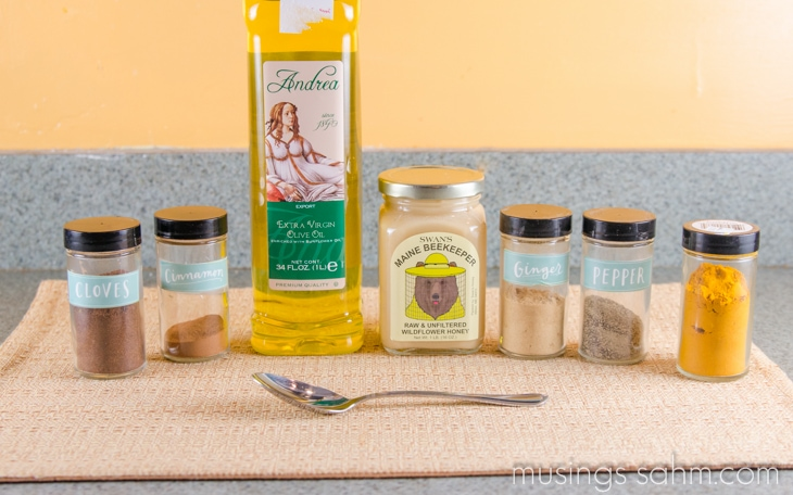Honey Spices Immune System Booster Ingredients