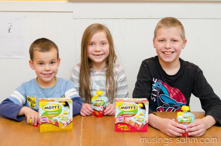 Kids Motts Snack & Go
