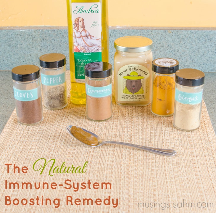 Natural Honey Spices Immune Boosting Remedy