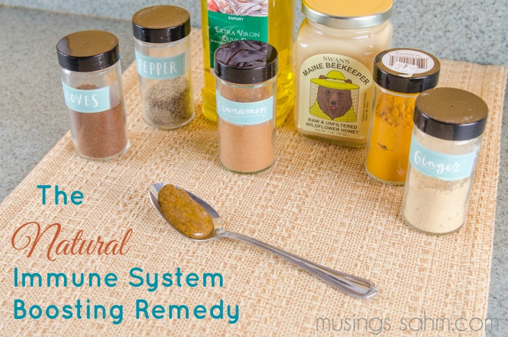 Natural Immune System Boosting Remedy
