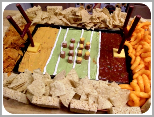 SuperBowl Appetizer Layout