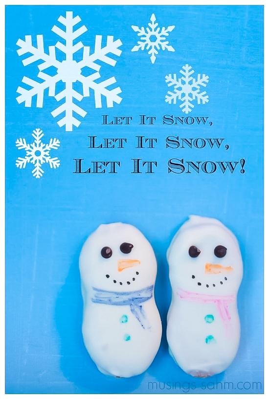 White-Chocolate-Snowman-Cookies