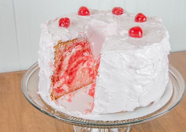 Cherry Chiffon Cake (2)