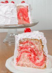 Cherry Chiffon Cake