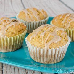 Cherry Pear Muffins – Beyond Breakfast Recipes from Kellogg's #GreatStarts