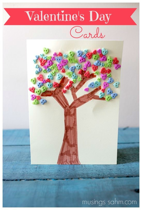 25 Easy Valentines Day Crafts for Kids Living Well Mom – Easy Homemade Valentines Day Cards